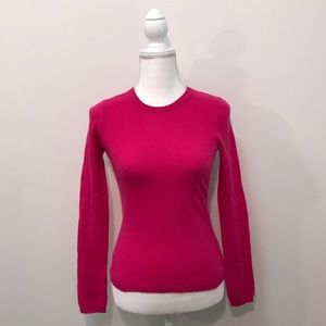 Charter Club Luxury 100% Cashmere Pink Sweater XS
